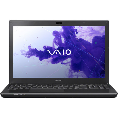 "Sony VAIO S Series 15 SVS15127PXB 15.5"" Notebook Computer (Black)"