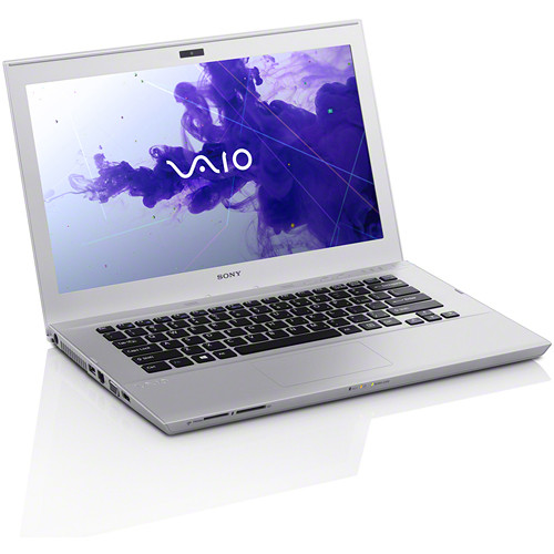 "Sony VAIO T Series 14 SVT14112CXS 14"" Ultrabook Computer (Silver Mist)"