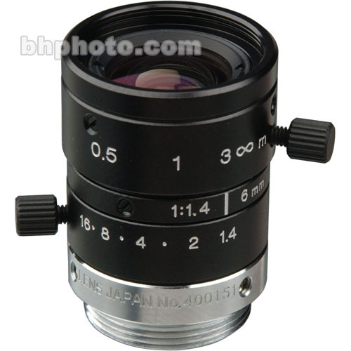 Sony VCL-O6S12XM NF-Mount 6mm Lens for Sony Specialty Cameras