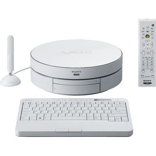 Sony VAIO VGX-TP20E/W Living Room PC Computer (White)