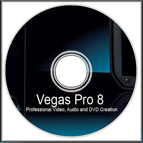 Sony Vegas Pro 8 Video Editing Software for Windows (CD Only)