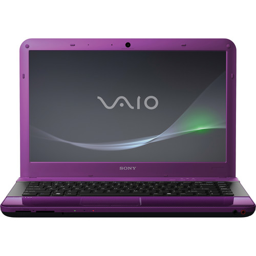 "Sony VAIO EA VPCEA33FX/V 14"" Notebook Computer (Passion Purple)"