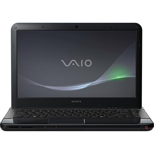 "Sony VAIO EA VPCEA36FX/B 14"" Notebook Computer (Lava Black)"