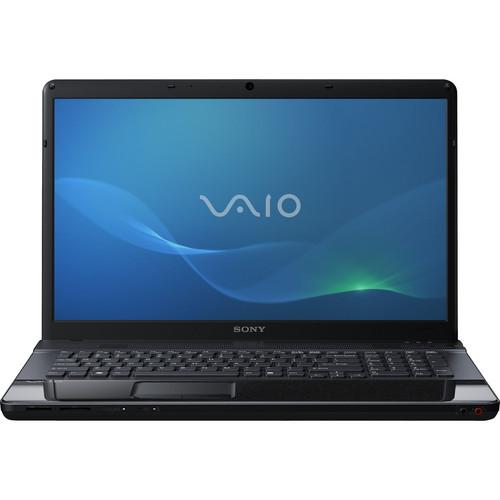 """Sony VAIO EF VPCEF22FX/BI 17.3"""" Notebook Computer (Matte Black)"""