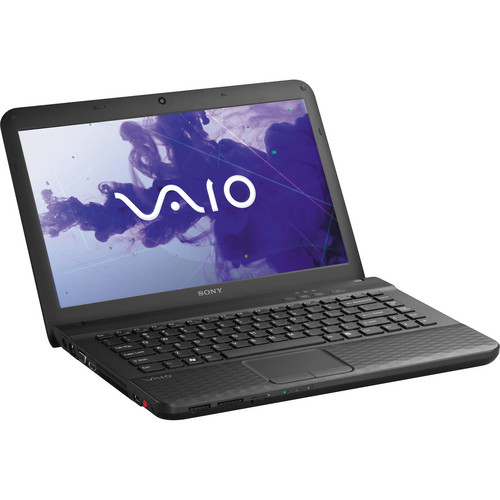 "Sony VAIO VPCEG34FX/B 14"" Notebook Computer (Charcoal Black)"