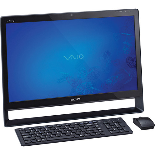 "Sony VAIO L VPCL135FX/B 24"" All-in-One Touchscreen Computer (Black)"