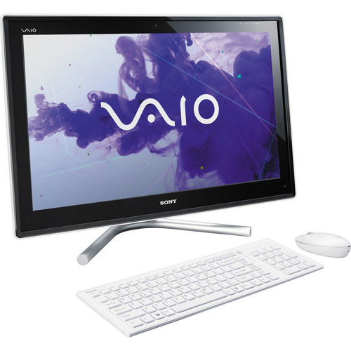 "Sony VAIO L23 VPCL23BFX/W 24"" All-in-One Desktop Computer (White)"