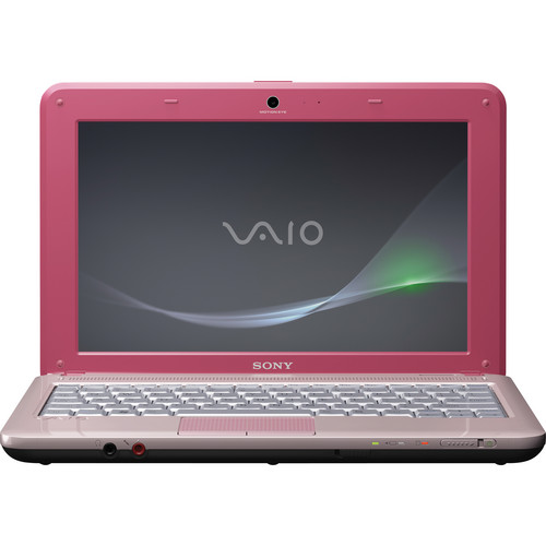 "Sony VAIO M VPCM121AX/P 10.1"" Netbook Computer (Pink)"