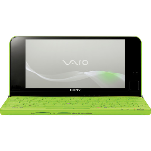 "Sony VAIO P VPCP111KX/G 8"" Lifestyle PC Computer (Green)"