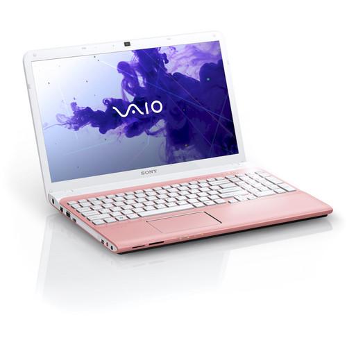 "Sony VAIO E Series 15 SVE15122CXP 15.5"" Notebook Computer (Seashell Pink)"