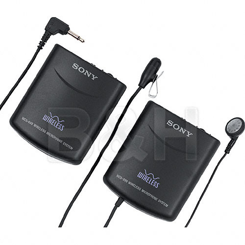 Sony WCS-999 Wireless System