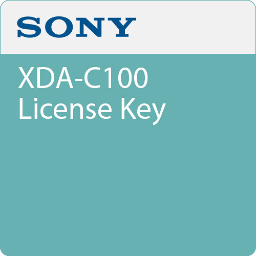 Sony XDA-C100 License Key