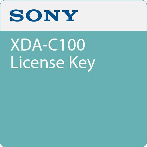 Sony XDA-C100 License Key