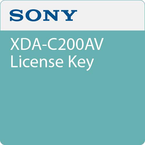 Sony XDA-C200AV License Key