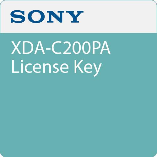 Sony XDA-C200PA License Key