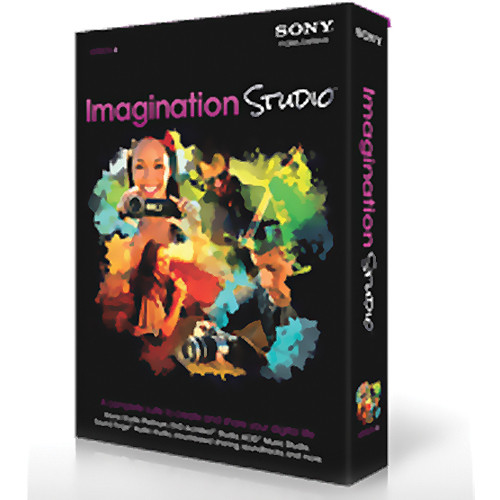 Sony Imagination Studio 4 Software