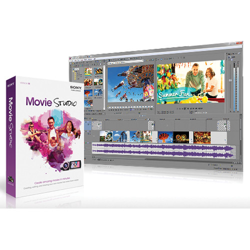 Sony Movie Studio 11 Video Editing Software