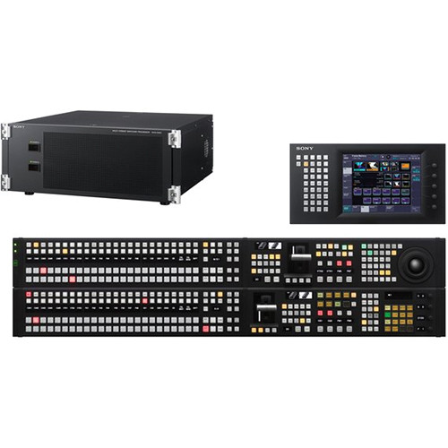 Sony MVS-6520PAC HD / SD Multi-format Switcher with 2 M/E Control Panel