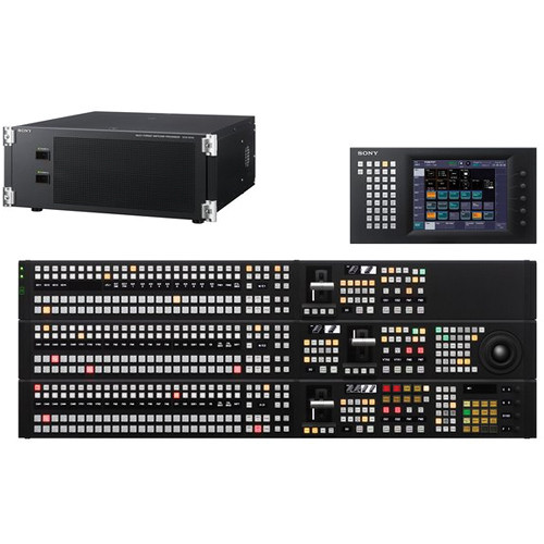 Sony MVS-6530PAC HD / SD Multi-format Switcher with 3 M/E Control Panel