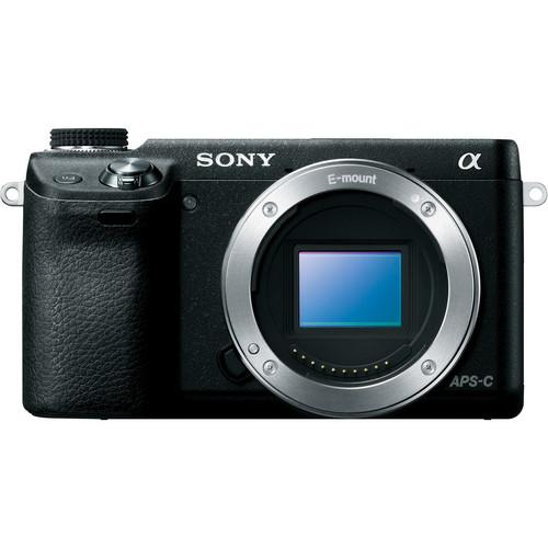 Sony Alpha NEX-6 Mirrorless Digital Camera (Black, Body Only)