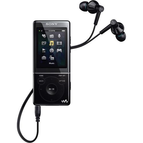 Sony 8GB E Series Walkman Video MP3 Player (Black)