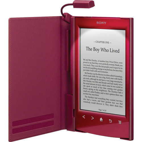 Sony Cover With Light for Reader (PRS-T2) - Red