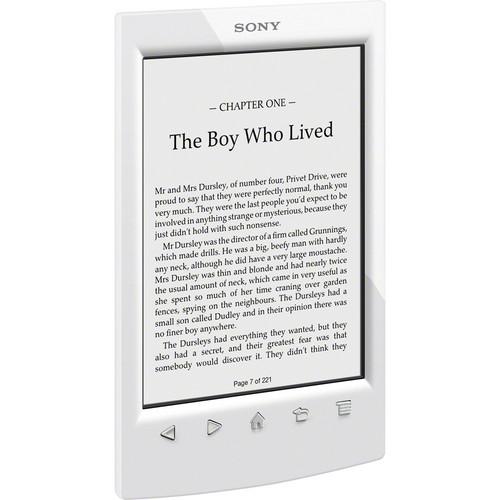 Sony PRS-T2 eReader (White)