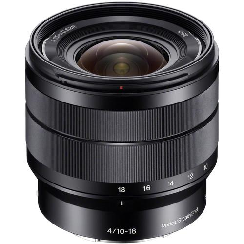 Sony 10-18mm f/4 OSS Alpha E-mount Wide-Angle Zoom Lens