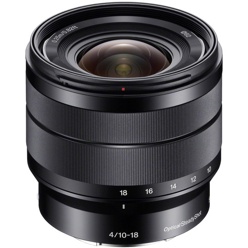 Sony E 10-18mm f/4 OSS Lens
