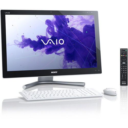 """Sony VAIO L Series 24"""" Multi-Touch All-in-One Desktop Computer (White)"""