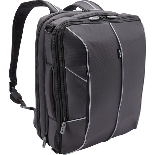"Sony Vaio Convertible Backpack for 15.5"" (Black)"
