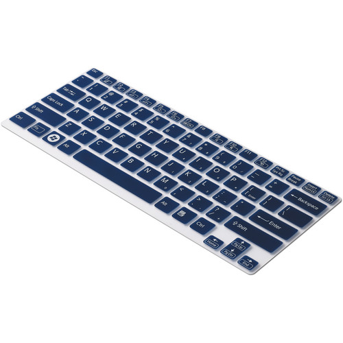 """Sony Keyboard Skin for Sony VAIO 13"""" S Series (Clear/Blue)"""