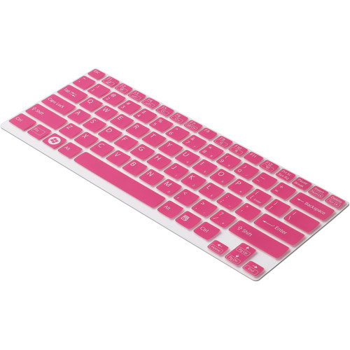 "Sony Keyboard Skin for Sony VAIO 13"" S Series (Clear/Red)"
