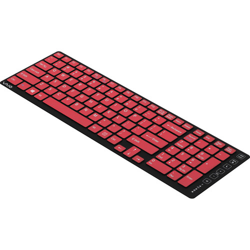 Sony Keyboard Skin for Sony VAIO L Series & Tap 20 Computers (Black/Red)