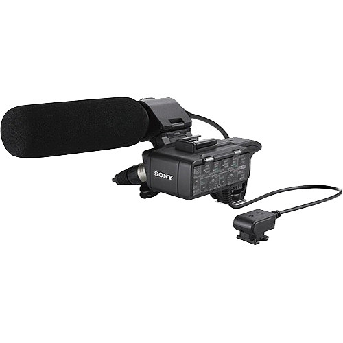 Sony XLR-K1M Adapter and Microphone Kit