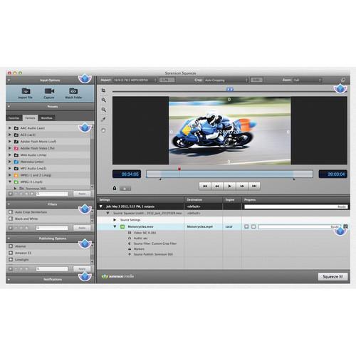 Sorenson Media Squeeze 8.5 Video Encoder
