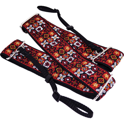"""Souldier Woodstock 2"""" Camera Strap (Red, White, Black, Yellow)"""