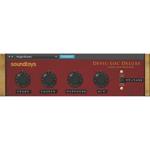 SoundToys Devil-Loc Deluxe - Audio Level Destroyer Plug-In (Native)