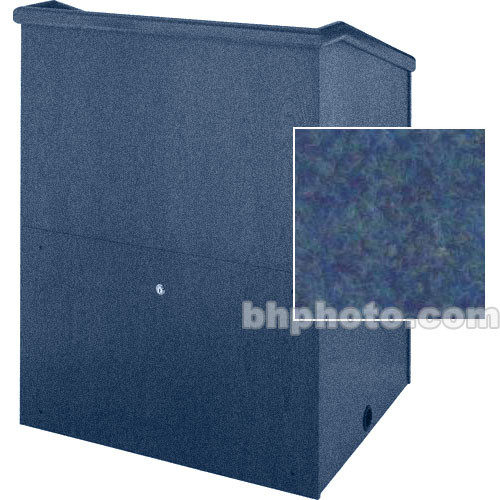 "Sound-Craft Systems Presenter 36"" Carpet Lectern (Navy)"