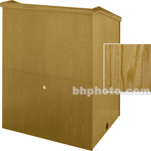 "Sound-Craft Systems Presenter 36"" Veneer Lectern (Natural Oak)"