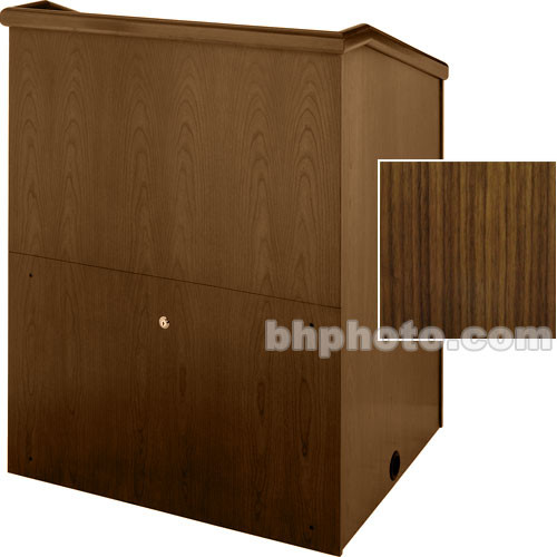 "Sound-Craft Systems Presenter 36"" Veneer Lectern (Walnut)"