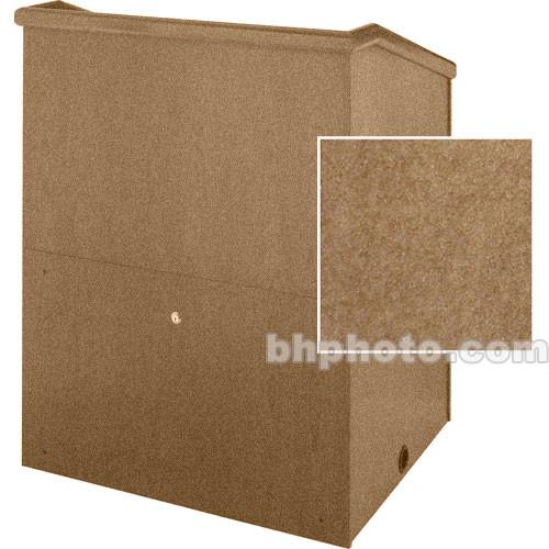 "Sound-Craft Systems Presenter 48"" Carpet Lectern (Butternut)"