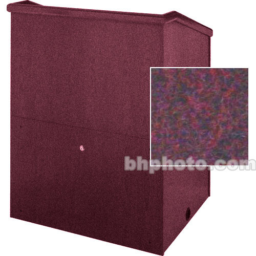"Sound-Craft Systems Presenter 48"" Carpet Lectern (Brick)"