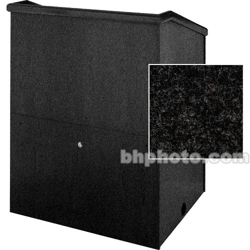 "Sound-Craft Systems Presenter 48"" Carpet Lectern (Charcoal)"