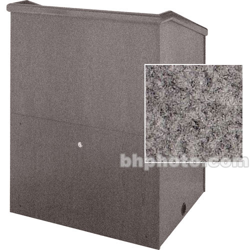 "Sound-Craft Systems Presenter 48"" Carpet Lectern (Gunmetal)"