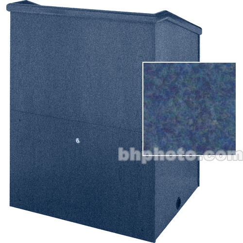 "Sound-Craft Systems Presenter 48"" Carpet Lectern (Navy)"