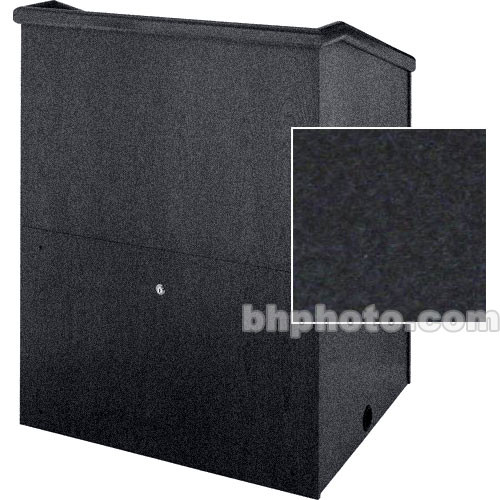 "Sound-Craft Systems Presenter 48"" Carpet Lectern (Onyx)"