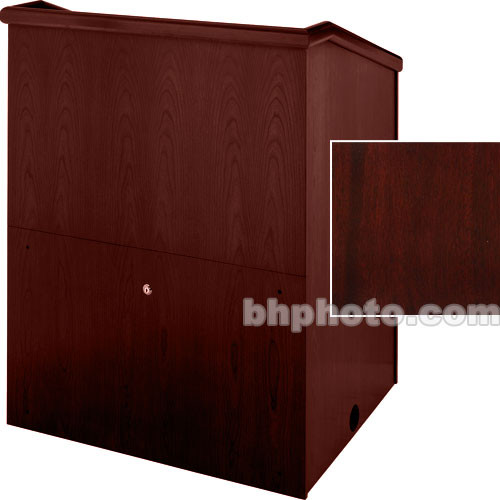 "Sound-Craft Systems Presenter 48"" Veneer Lectern (Dark Mahogany)"