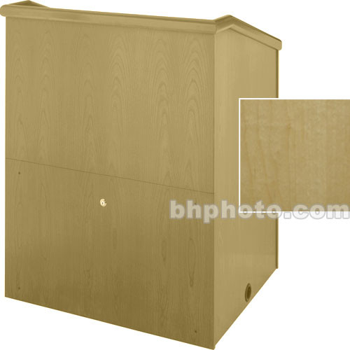"Sound-Craft Systems Presenter 48"" Veneer Lectern (Natural Maple)"