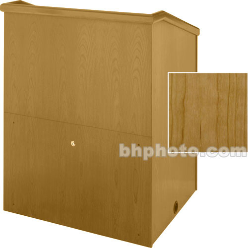"Sound-Craft Systems Presenter 48"" Veneer Lectern (Natural Cherry)"